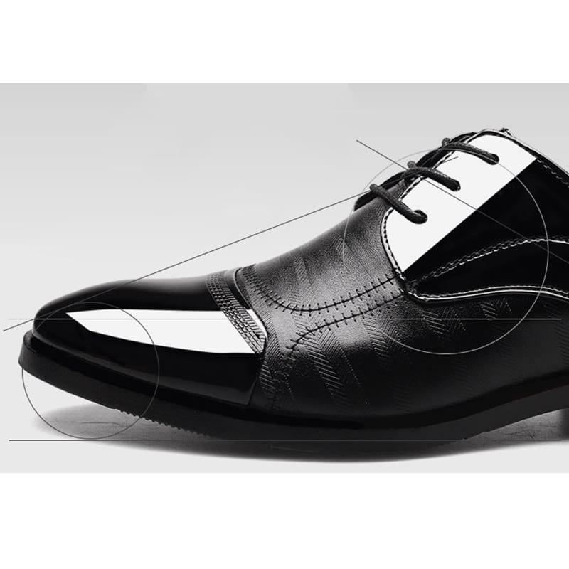 Large Size 38-48 Dance Shoes Men Leather Pointed Wedding Shoes Jazz Latin  Prom Shoes Ballroom Tango Dance Bureau Dress Shoes ccdfcca5b0bc