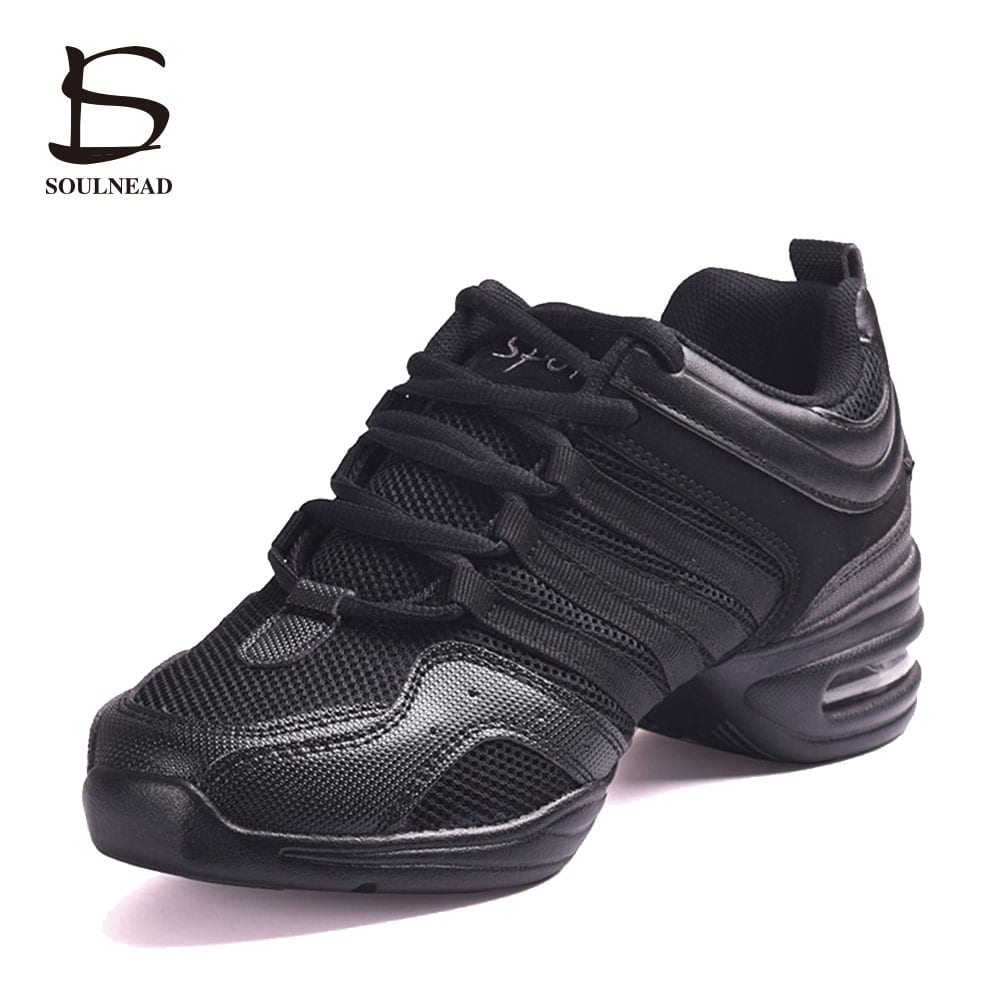 45b16ad4f Sneakers Woman Dance Shoes For Salsa/Modern/Hip Hop/Jazz Breathable  Teachers Platform Sneakers For Men/Women/Ladies Dancing Shoe