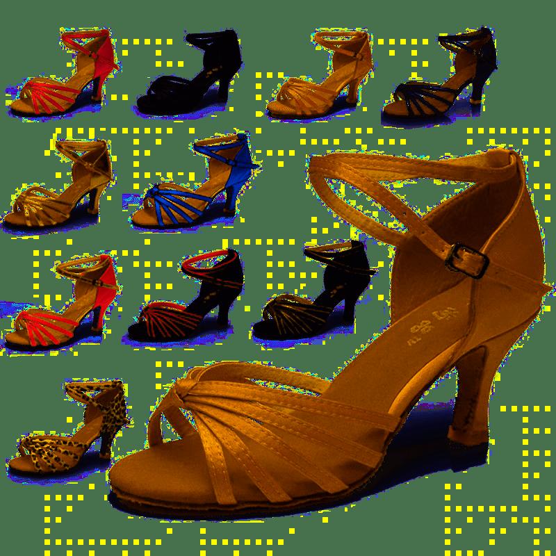 800667f697 Ladies Ballroom Salsa Latin Dancing Shoes