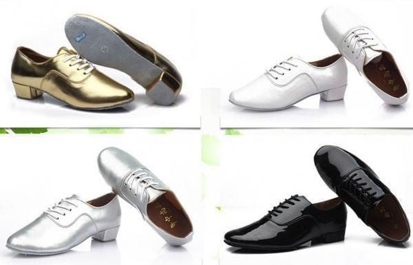 Men's Latin Dance Shoes Ballroom Tango